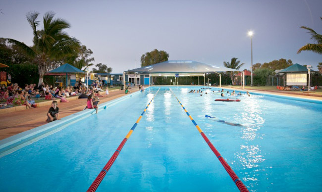 Paltridge Memorial Swimming Pool