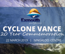 Cyclone Vance 20 year Commemoration morning tea at the Ningaloo Centre