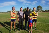 $225,000 BHP grant to benefit community and sporting clubs