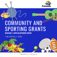 Applications for $1,500 Community and Sporting Grants now open!