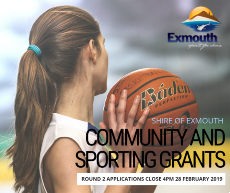 Round 2 - applications for $1,500 Community and Sporting Grants now open!