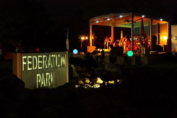 General - Federation Park Stage