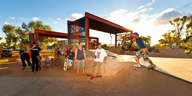Facilities & Boat Ramps - Exmouth Skate Park